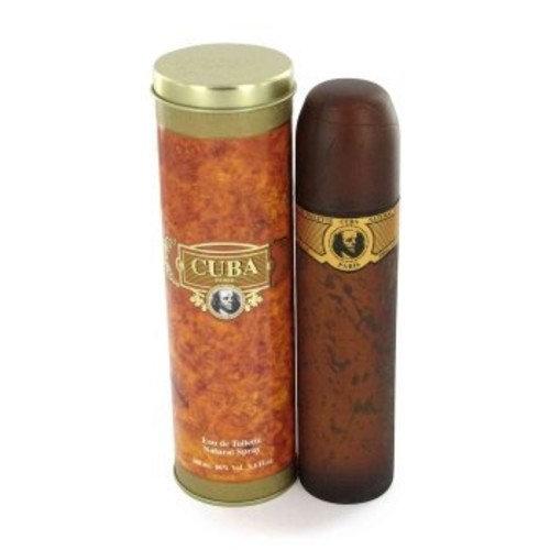 Cuba Paris  Fragluxe Cuba Gold by Fragluxe Eau De Toilette Spray 3.4 oz for Men
