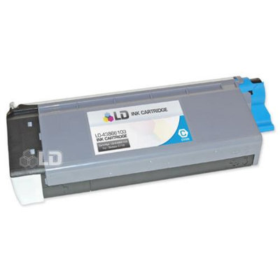 LD Okidata C710 Compatible 43866103 Cyan Laser Toner Cartridge