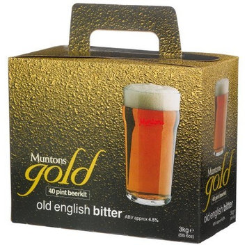 Muntons Gold 40 Pint Beerkit, Old English Bitter, 102-Ounce Box