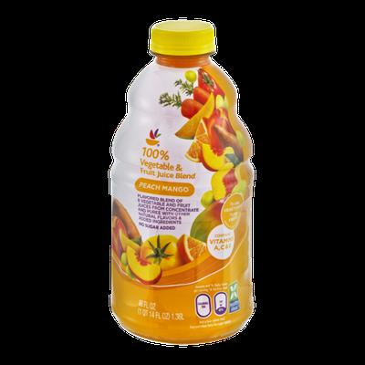 Ahold 100% Vegetable & Fruit Juice Peach Mango