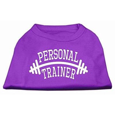 Mirage Pet Products 51-88 LGPR Personal Trainer Screen Print Shirt Purple Lg - 14