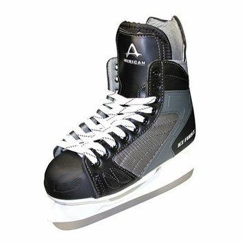 American Athletic Boys American Ice Force Hockey Skate - Black (3)