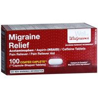 Walgreens Migraine Relief Coated Caplets