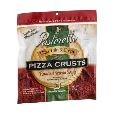 Pastorelli Ultra Thin & Crispy Roman Pizzeria Style Crusts - 3 CT