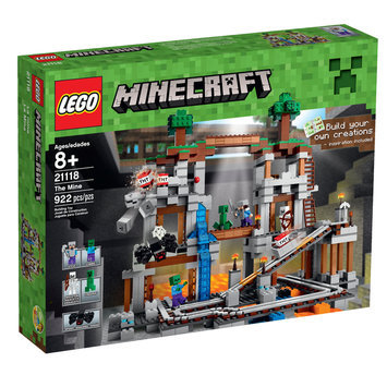 Lego System As Minecraft - The Mine