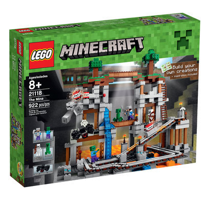 Lego System As Minecraft - The Mine