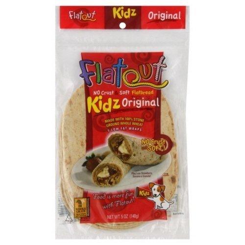 Flatout Kidz Flatbread Original Wraps 5 Oz 4 Packs
