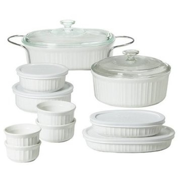 CorningWare Bakeware Gift Set - 12 piece (French White)