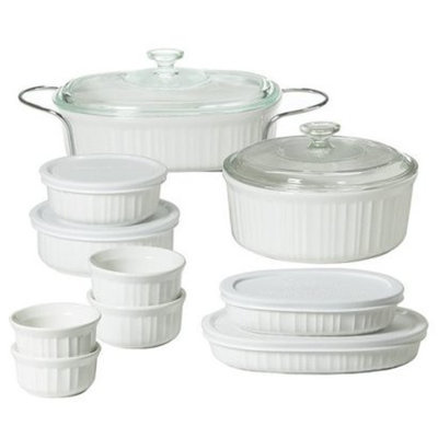 CorningWare Bakeware Gift Set - 12 piece (French White)