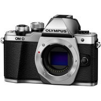 Olympus OM-D E-M10 Mark II Mirrorless Micro Four Thirds Digital Camera Body (Silver)