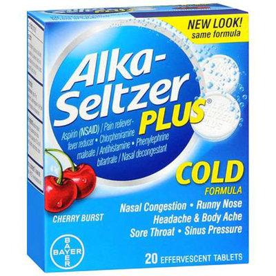 Alka-Seltzer Plus Cold Formula