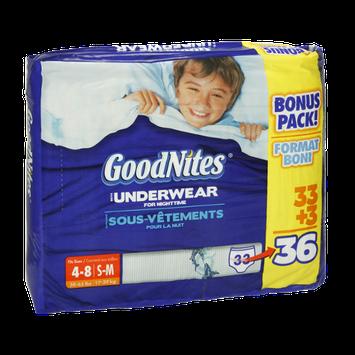 Huggies® GoodNites Boys Underwear For Nightime