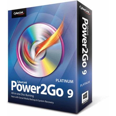 Cyberlink CyberLink P2G-0900-IWP0-00 Power2Go 9 Platinum (Digital Code)