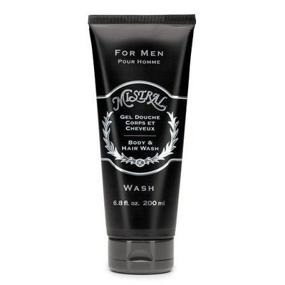 Mistral Men's Personal Care Body Wash, 6.8 Fluid Ounce