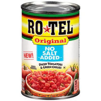 Ro-Tel Original No Salt Added Diced Tomatoes & Green Chilies, 10 oz