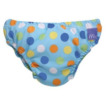 Bambino Mio Swim Nappy - Blue Spot - Medium