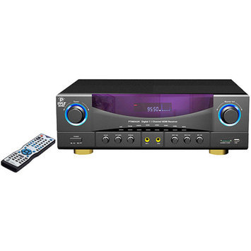 PyleHome PYLE HOME PT980AUH 7.1-Channel 350-Watt Amplifier Am/Fm Receiver