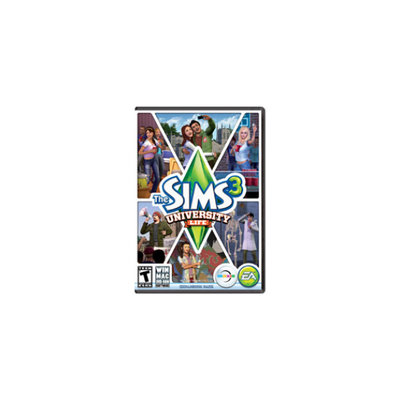 Electronic Arts The Sims 3 Plus University Life (Win/Mac)