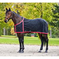 HorZe Fleece Rug With Netted Lining 78 Blue/Blue