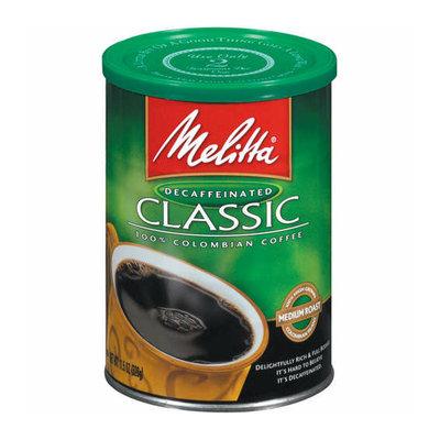 Melitta 60521 Classic Decaffeinated Ground Coffee - 10.5-Ounce