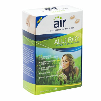 air ALLERGY - Allergy Relief Nasal Filter with Filtration Media from 3M