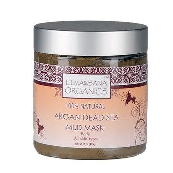 ELMA&SANA® Argan Oil Dead Sea Mud Mask-15oz(425gr)
