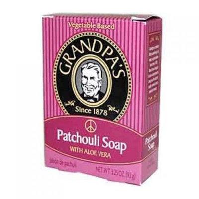 Grandpa's Patchouli Soap with Aloe Vera