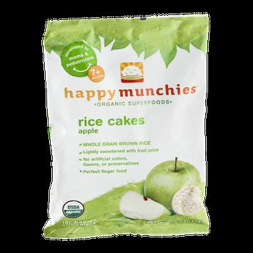 Happy Munchies Organic Superfoods Apple Rice Cakes