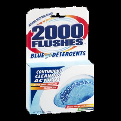 2000 Flushes Blue Plus Detergents