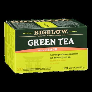 Bigelow Green Tea With Peach - 20 CT