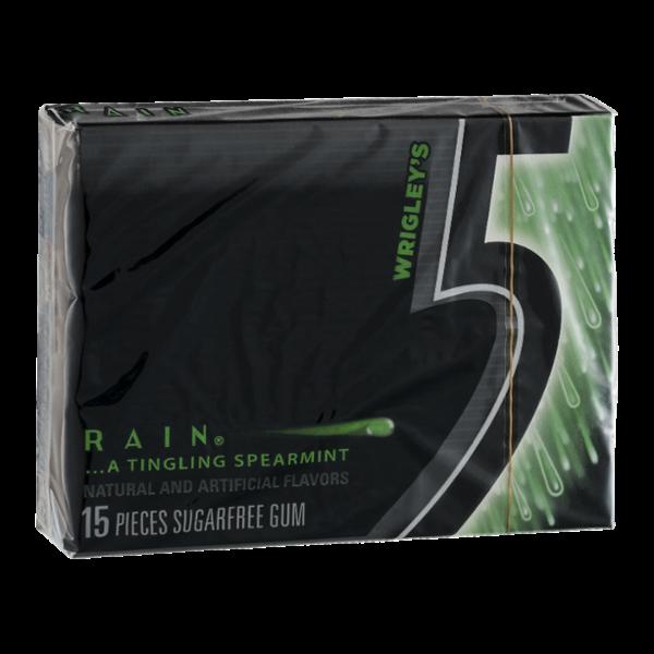 Wrigley's 5 Rain Sugarfree Gum - 15 CT