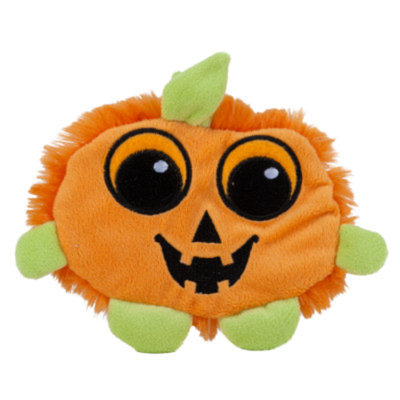 Grreat ChoiceA Pumpkin Flattie Dog Toy