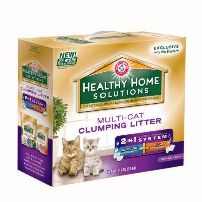 Arm & Hammer ARM & HAMMERTM Healthy Home Solutions Multi-Cat Litter