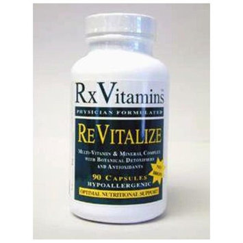 Rx Vitamin's ReVitalize Iron-free 90 caps