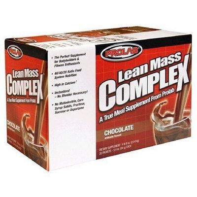 Musclemaster Prolab Lean Mass Complex, Chocolate 20pks