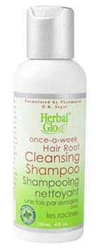 Herbal Glo Hair Root Cleansing Shampoo 4 fl oz