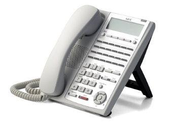 NEC SL1100 NEC-1100062 SL1100 24-Button Full-Duplex Tel (WH)