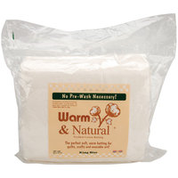 Warm & Natural Cotton Batting -King Size 120