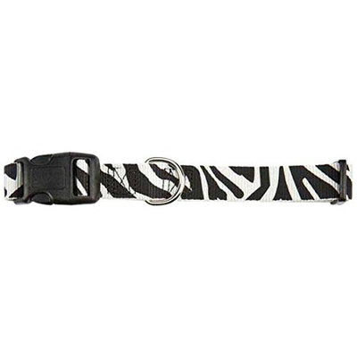 East Side Collection ESC Animal Print Pet Collar Zebra