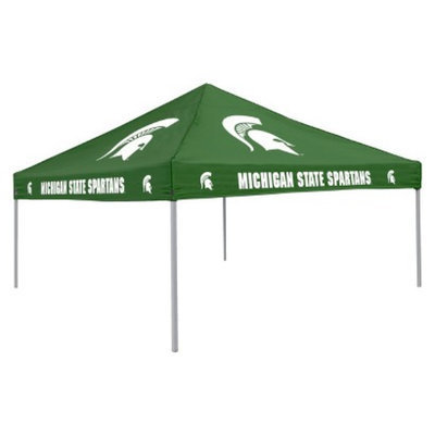 NCAA Michigan State Spartans Green Canopy Tent