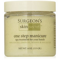 Surgeon's Skin Secret One Step Manicure/Pedicure, Lemon, 4 Ounce