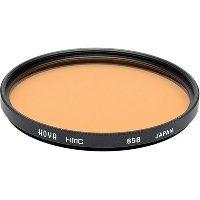 Hoya 55mm 85B Daylight to Tungsten Conversion Multi Coated Glass Filter.