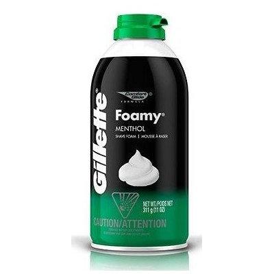 Gillette Foamy Shave Foam Menthol