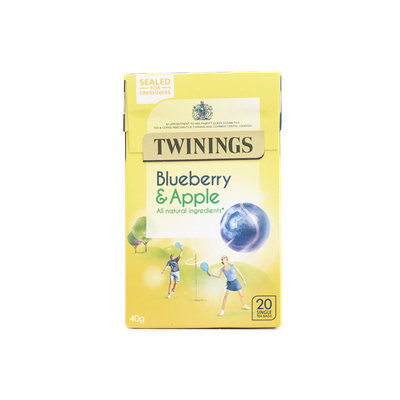 Twinings® Blueberry & Apple Tea Bags