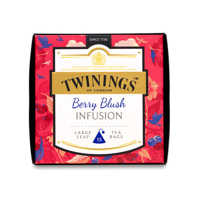 Twinings® Discovery Collection Berry Blush Infusion - Pyramid Tea Bags