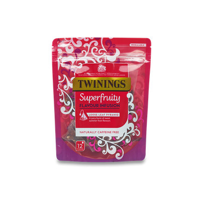 Twinings® Superfruity Flavour Infusion Pyramid Bags