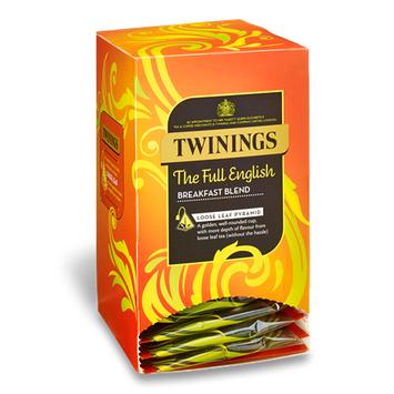 TWININGS The Full English LOOSE LEAF PYRAMID TEA BAGS