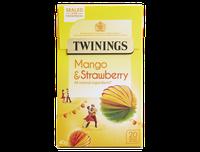 TWININGS Mango & Strawberry Tea Bags