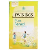 TWININGS PURE FENNEL TEA BAGS