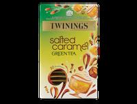 TWININGS Salted Caramel GREEN TEA Envelope Tea Bags